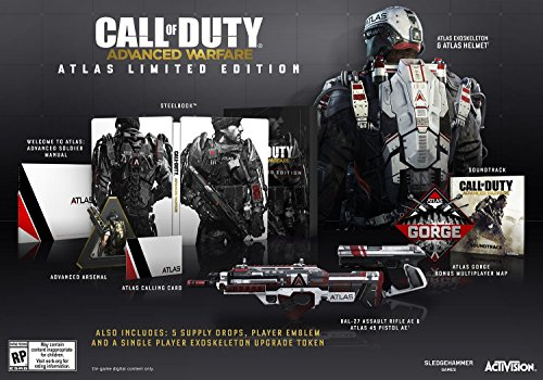 Call of Duty: Advanced Warfare Atlas Limited Edition - PlayStation 4 (Playstation Advanced Warfare compare prices)