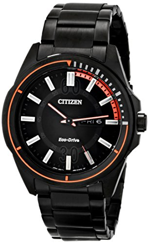 Citizen HTM Three-Hand Stainless Steel Men's watch #AW0038-53E