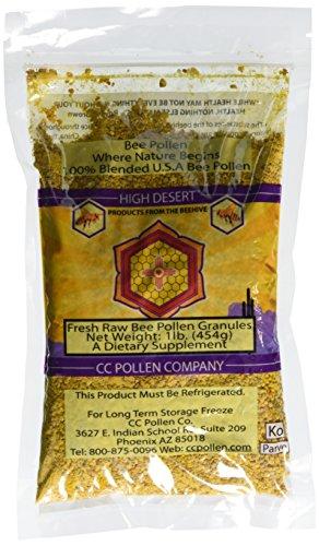 C C Pollen High Desert Bee Pollen Granules Bag -- 1 lb