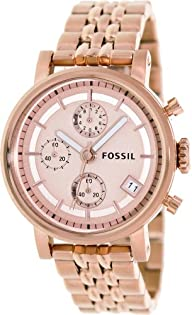 "Fossil Women's ES3380 ""Decker"" Stainless Steel Watch"