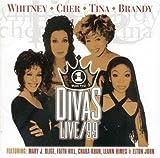 echange, troc Artistes Divers, Whitney Houston, Cher, Tina Turner, Brandy - Divas - Le Concert du siècle
