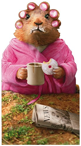 Morning Ground Hog Avanti Oversized Funny Birthday Card (Avanti Coffee Cups compare prices)