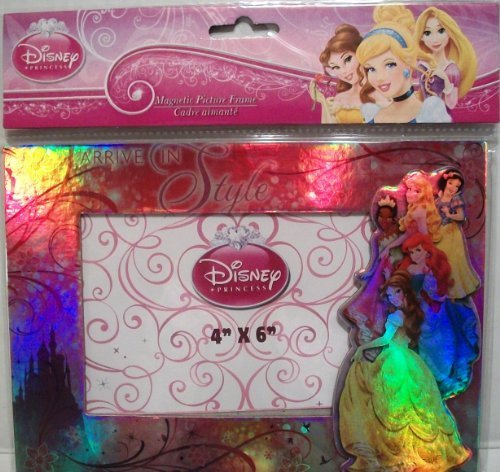 Disney Princess Magnetic Picture Frame (4x6 In)