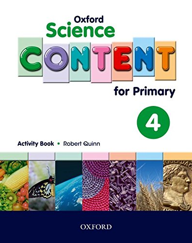 Science Content 4th Primary Activity Book