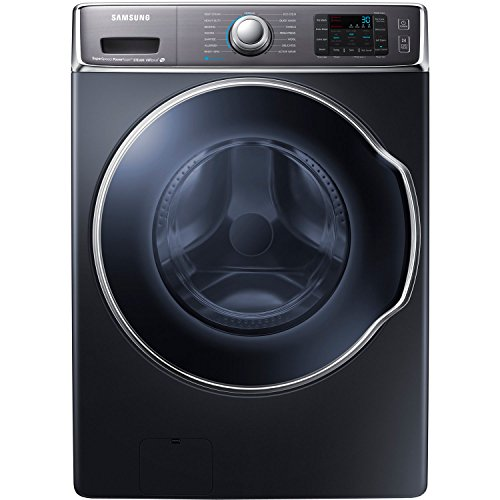 Samsung WF56H9100AG Energy Star 5.6 Cu. Ft. Front-Load Steam Washer with PowerFoam Technology, Onyx