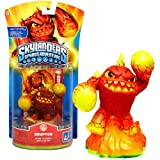 51vE8FctwpL. SL160  Activision Year 2011 Video Game Series Skylanders Spyros Adventure 2 1/2 Inch Tall Character Game Piece Figure   ERUPTOR Born to Burn! (Works with the Skylanders Spyros Adventure Video Game, Video Game Sold Separately)