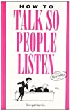 img - for How to Talk So People Listen by Sonya Hamlin (2007-11-15) book / textbook / text book