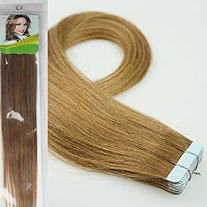 buy hairranti 16 39 39 18 39 39 20 39 39 22 39 39 24 39 39 tape in real human hair extensions straight 17 colors. Black Bedroom Furniture Sets. Home Design Ideas