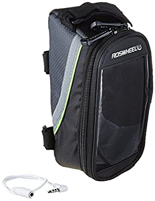 Roswheel Bicycle JFLY Frame Pannier and Front Tube Cell Phone Bag