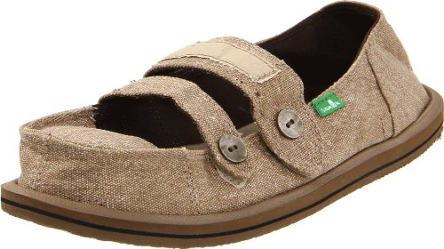 Sanuk Women's Cadet Slip-On,Khaki,9 M US