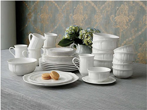 Mikasa Antique White 36-piece Dinnerware Set 1
