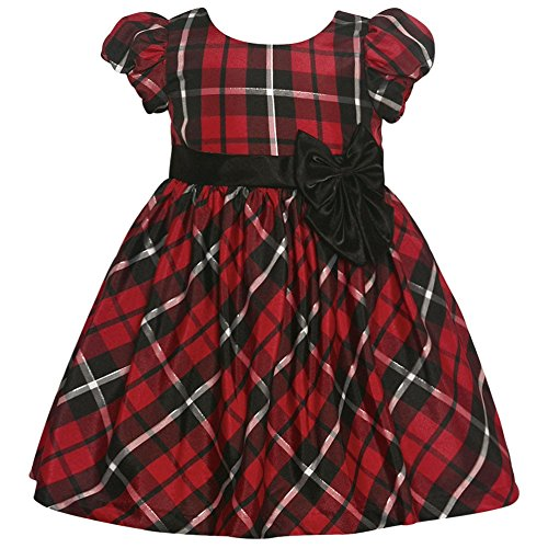 bonnie-jean-baby-girls-red-black-plaid-bow-accented-christmas-dress-24m