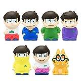 バンダイ食玩「おそ松さん」かわいいソフビ人形が7月発売