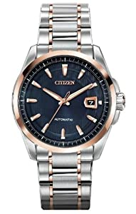 Citizen Men's NB0046-51L Grand Classic Signature Mechanical Sapphire Crystal Watch