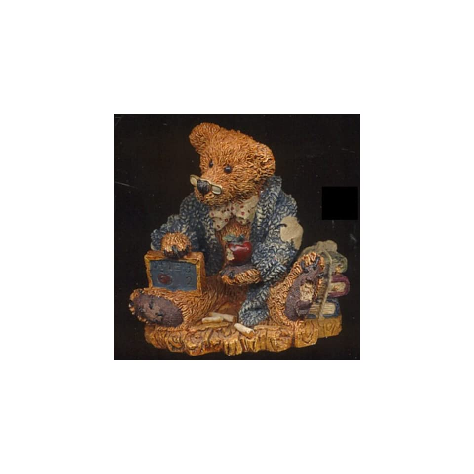 Boyds Bears & Friends   Wilson The Perfesser   Style # 2222