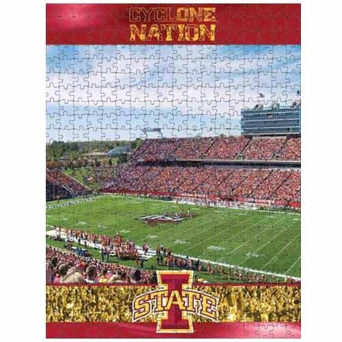 Cheap Fun Racing Reflections Iowa State Cyclones 18X22 550 Piece Jigsaw Puzzle (B002QTI7EE)