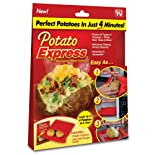 Potato Express -Microwave Potato Cooker - As Seen on TV
