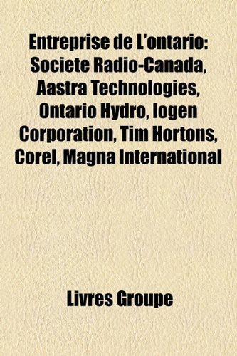entreprise-de-lontario-societe-radio-canada-aastra-technologies-ontario-hydro-iogen-corporation-tim-