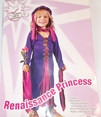 Renaissance Princess Costume Child Size Toddler up to 2T
