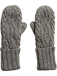 Fox Racing Girls Legendary Mitten Gloves, Heather Grey, One Size