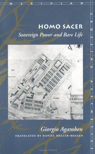 Homo Sacer: Sovereign Power and Bare Life (Meridian:...