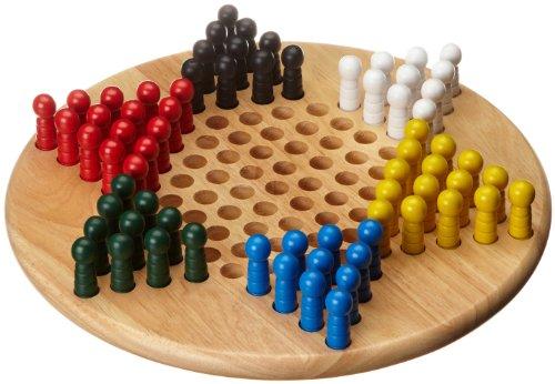 Philos-Spiele - Damas chinas, para 2 jugadores (importado)