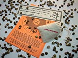 Mexican Jumping Beans - Sack of 150+ Authentic Mexican Jumping Beans with 30 Racing Game Sheets. Includes Certificate of Authenticity.