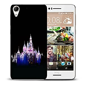 Snoogg White Palace Designer Protective Back Case Cover For HTC DESIRE 728 DUAL SIM