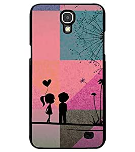 PRINTSWAG LOVE COUPLE Designer Back Cover Case for SAMSUNG GALAXY MEGA 2