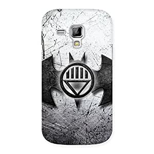 Premium Black Knight Shade Back Case Cover for Galaxy S Duos