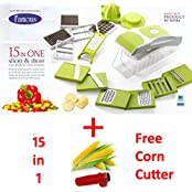 Famous 15 In One Chopper Famous Plastic Vegitable Slicer, Grater And Dicer ( Free Corn Cutter + Free Delivery...
