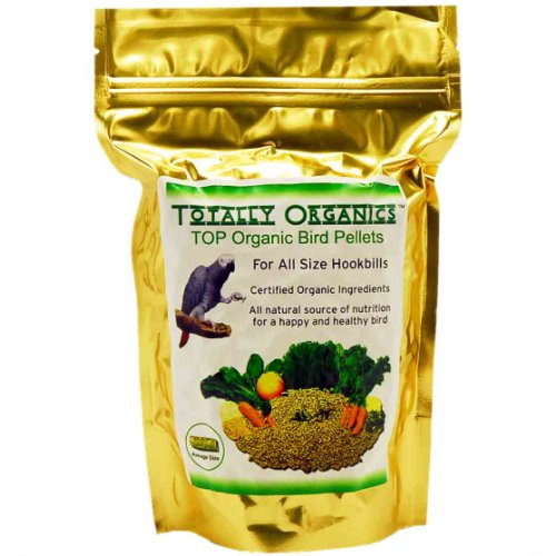 Totally Organics Top Pellets For All Size Parrots