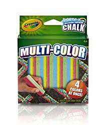 Crayola Special Effects Sidewalk Chalk - Multicolor