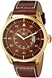 Invicta Men's 19261 I-Force Analog Display Japanese Quartz Brown Watch