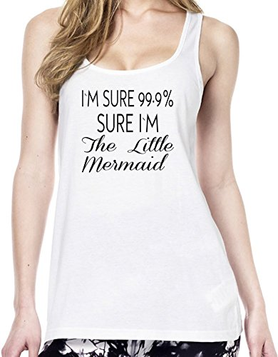 I'm 99.9% Sure I'm The Little Mermaid Funny Tunica delle donne Large