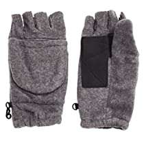 Convertible Fingerless Fold Over Mitten Half Gloves - Xmas Gifts for Women and Men - Lot of 4 Pcs - Best Price