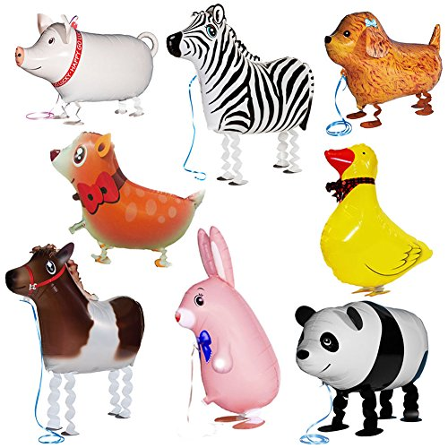My Own Pet Animal Farm Party Walking Balloons