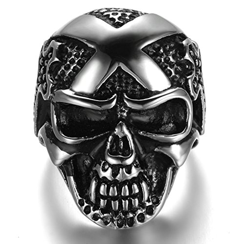 stainless-steel-ring-for-men-dead-head-ring-gothic-black-band-silver-band-3040mm-size-z-1-2-epinki