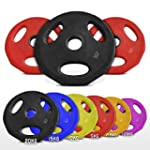Olympic Rubber Disc Weight Plates EZ...