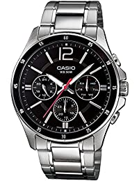 casio watches buy casio watches online at best prices in casio enticer black dial men s watch mtp 1374d 1avdf a832