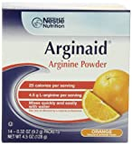 Arginaid Orange, 0.32-Ounce Packets (Pack of 56)