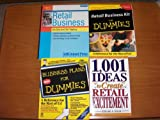 img - for Four Book Set for Retail Business - Titles: Start & Run a Retail Business/1,001 Ideas to Create Retail Excitement/Retail Business Kit for Dummies/Business Plans for Dummies book / textbook / text book