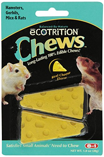 8 In 1 Pet Products SEOP84002 Ecotrition Small Animal Cheesie Chews, 1-Ounce 51vErvnXXsL hamster cages Hamster Cages | Toys | Balls | Treats | Bedding 51vErvnXXsL
