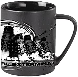 "Underground Toys Doctor Who Dalek Mug (""You Will All Be Exterminated"")"