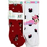 Disney Minnie Mouse Minnie Face 2 Pack Red Infant Tight Stockings