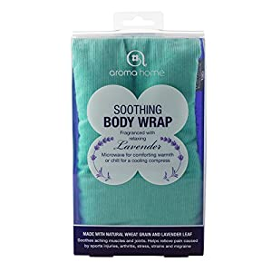 Aroma Home - AHBWP1-0022 - Bandeau Relaxant Coton - Boîte Turquoise