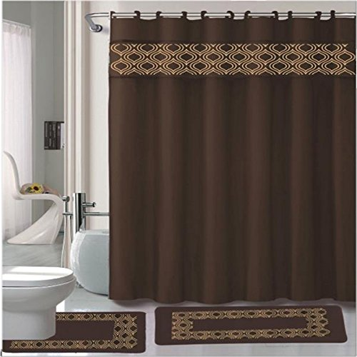 Shower Curtains chocolate brown shower curtains : Kashi Home Shower Curtains Shower Curtains Outlet