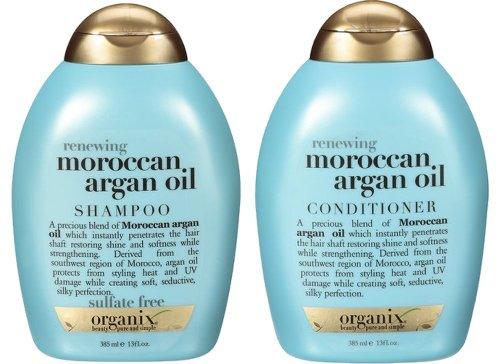 Organix: Moroccan Argan Oil Shampoo + Conditioner, 13 oz Combo Packモロッコのアルガン油シャンプー+コンディショナー 並行輸入品