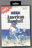 echange, troc American Baseball