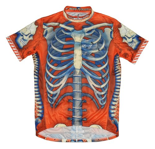 Buy Low Price Primal Wear Bone Collector Skeleton Cycling Jersey Men's Short Sleeve Limited Edition (B008GGAPRI)